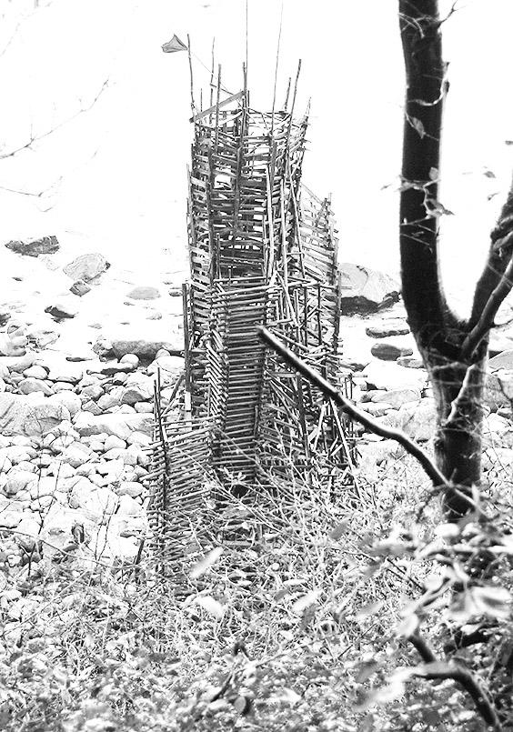 "Das Land-Art-Projekt ""Nimis"" am Kullaberg."