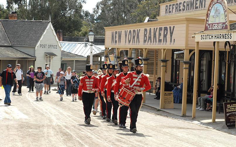 Ballarat: Goldgräberfreilichtmuseum Sovereign Hill