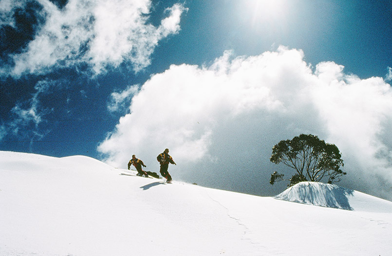Falls Creek: Skispaß im High Country von Victoria