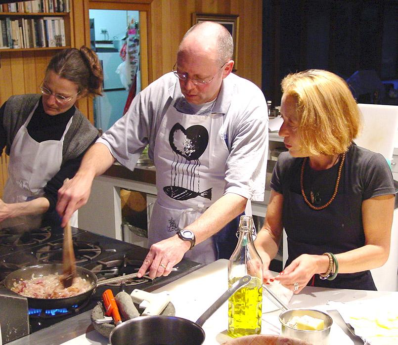 Marike Brugmann verrät bei Gourmet Retreats die Kniffe der Haute Cuisine