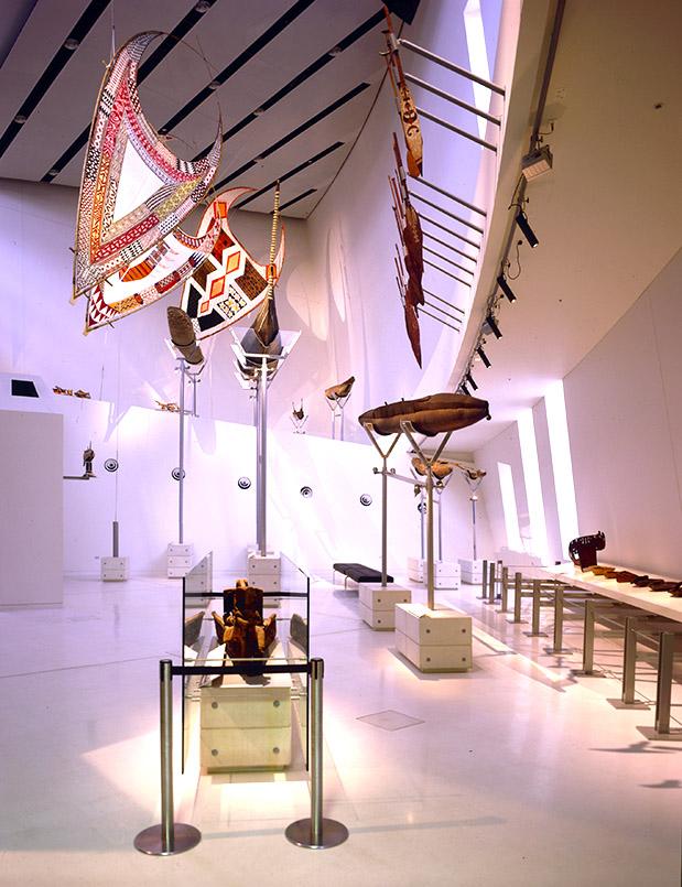 Die Bunjilaka-Galerie des Melbourne Museum