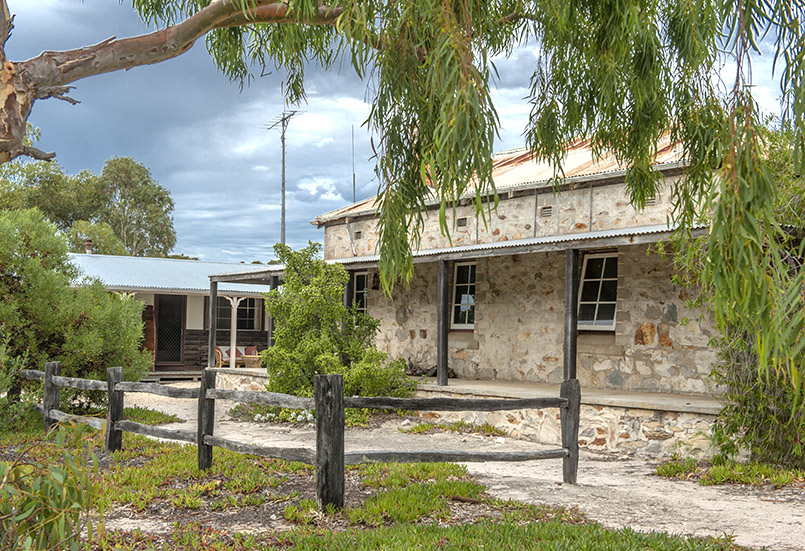 Quaalup Homestead im Fitzgerald National Park