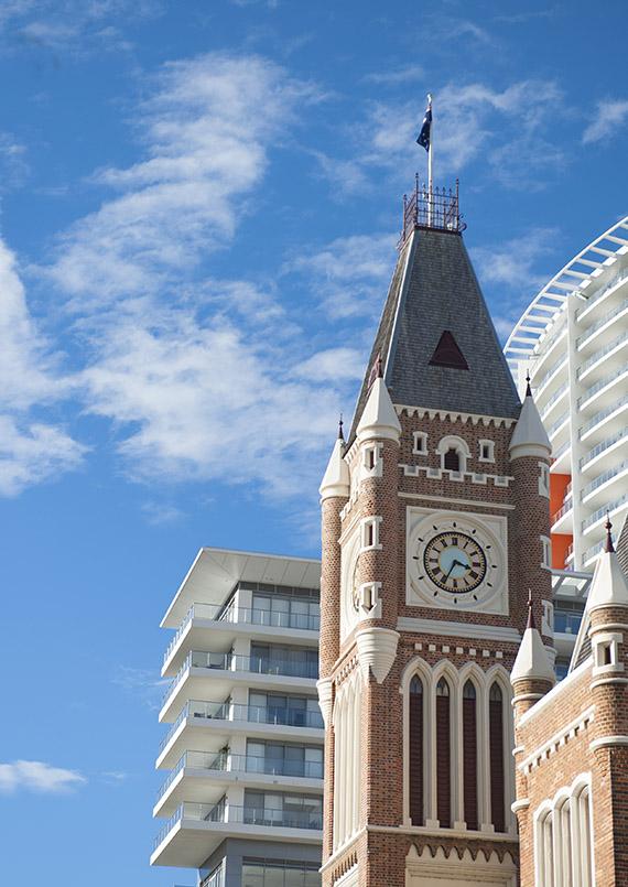 Das Rathaus von Perth