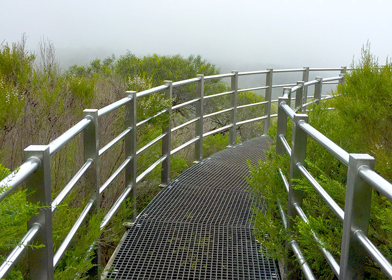 Porongurup: der Granite Skywalk
