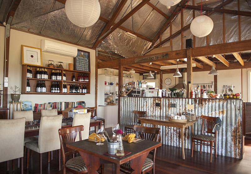 Porongurup: das Café des Weinguts Zarepath