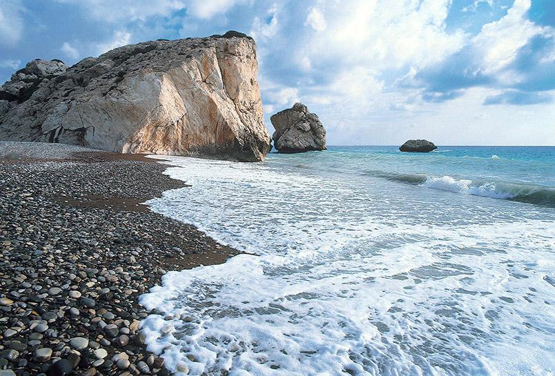 Der Felsen der Aphrodite auf Zypern