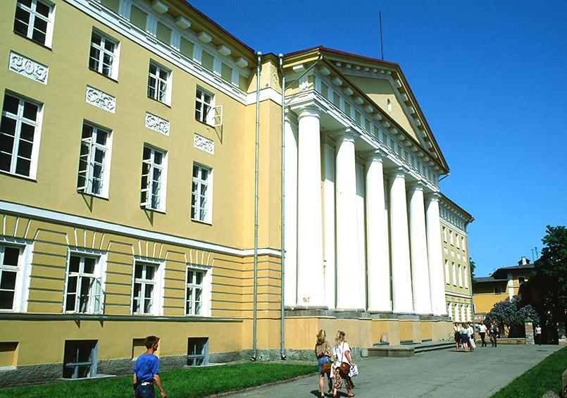 Das Hauptgebäude der Universität von Tartu
