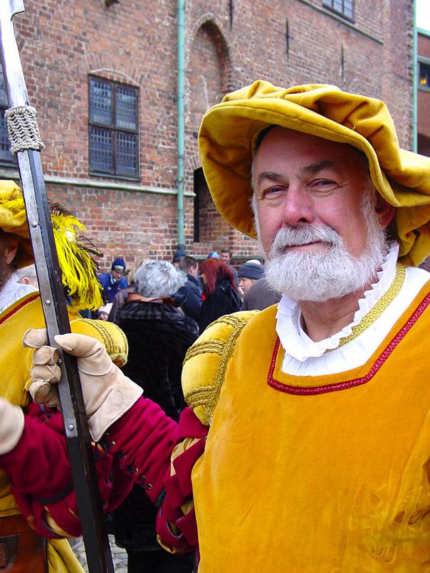 Malmö: Historische Garde am Malmöhuis