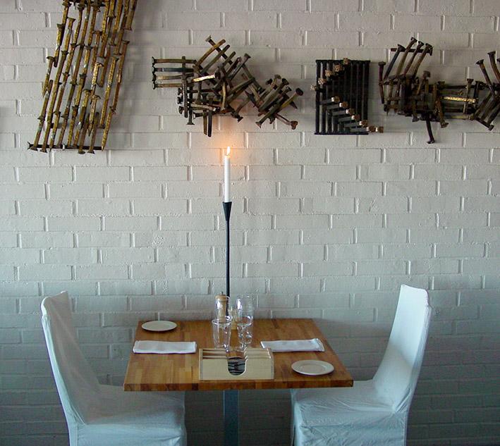 Nordischer Genuss auf dem Teller wie beim Ambiente.