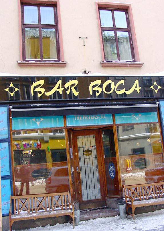 Die Bar Boca von Grünerløkka