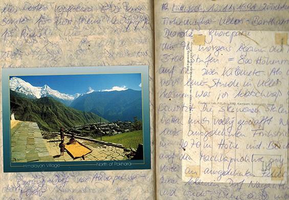 NEPAL_Reisetagebuch©Hilke Maunder