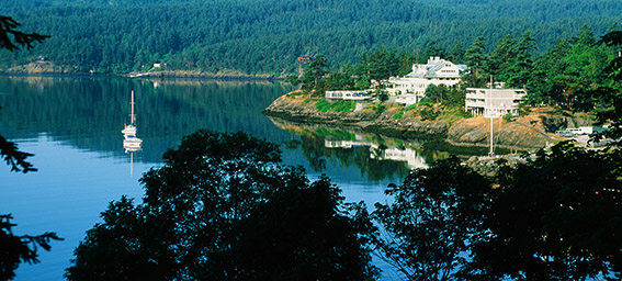 US/Washington State/San Juan Islands/Orcas Island: Rosario Resort