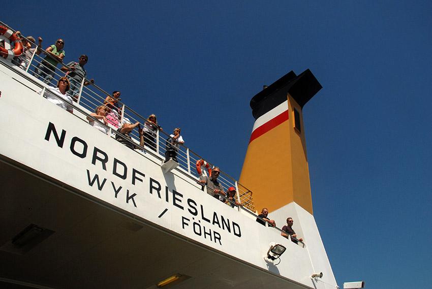 D/Schleswig-Holstein/Nordfriesische Inseln/Föhr: W.D.R.-Fähre