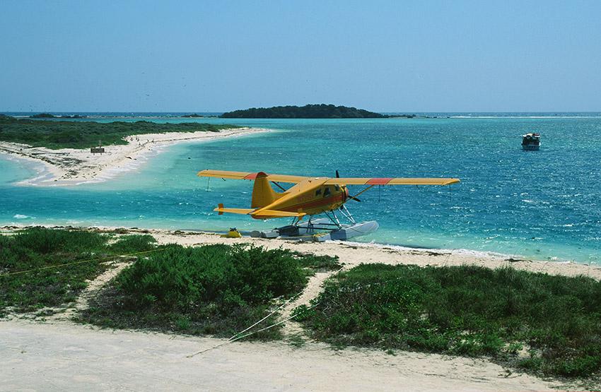 USA/Florida/Florida Keys/Dry Tortugas: Wasserflugzeug