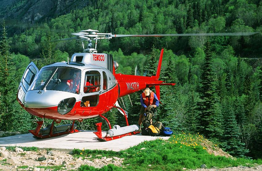 USA/Alaska/Skagway: Heli-Hiking, Warm Pass Valley