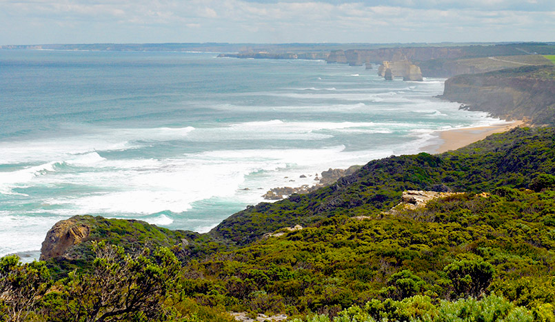 Great Ocean Road: bei Princetown, Great Ocean Walk