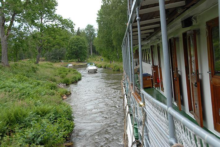 S/Göta Kanal/Spetsnäset-Halbinsel: Spetsnäskanalen