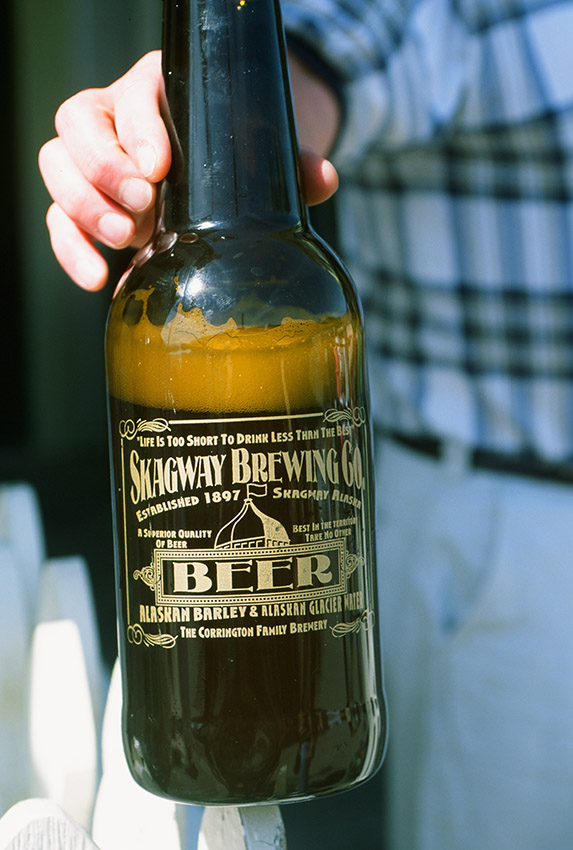 USA/Alaska/Skagway: Brauerei Corrington, Bier aus Skagway