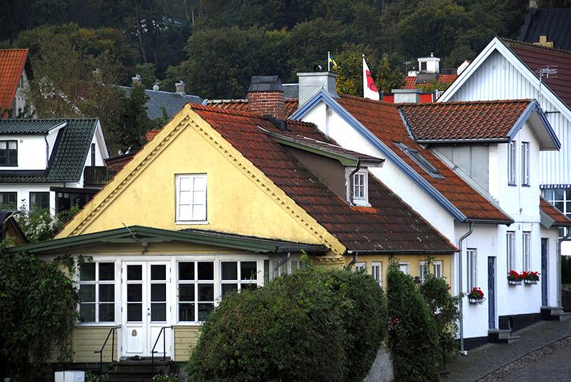 Öresund: Die Kirkgatan von Båstad
