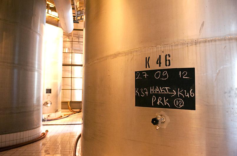 Der Keller des anatolischen Weingutes Kavaklıdere