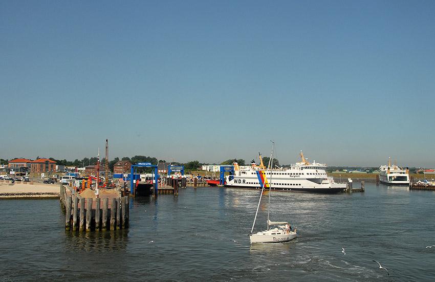 D/Schleswig-Holstein/Nordfriesische Inseln/Föhr: Wyk, Hafen